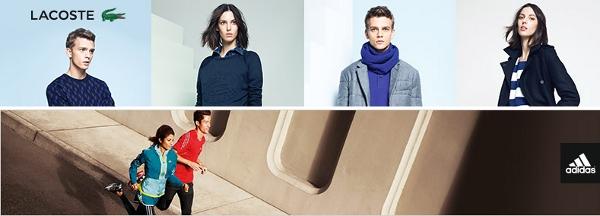 Lacoste und Adidas mit Rabatten bis zu 50% bei Zalando