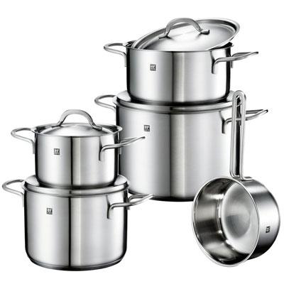 Zwilling Impulse Kochgeschirr Set für 84€   5 teiliges Topf Set