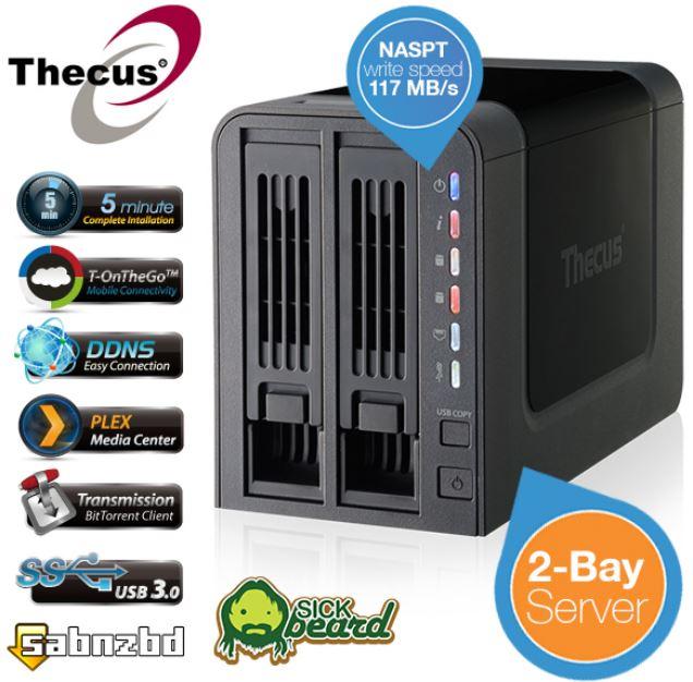 Thecus N2310   2bay NAS für 105,90€   Update