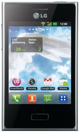 LG E400 Optimus L3 black   Einsteiger Smartphones ab 34,95€   Update!