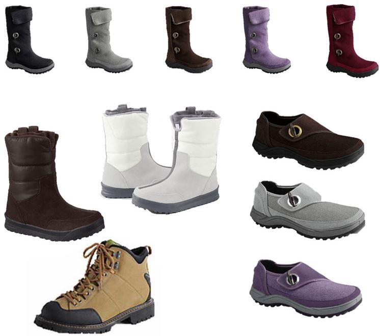 Lands´ End Winter Boots u. Schuhe für Damen und Herren je 19,99€