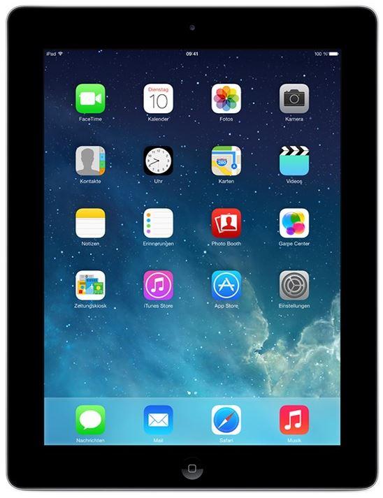 Apple iPad 4. Generation mit Wi Fi 32GB für 444€
