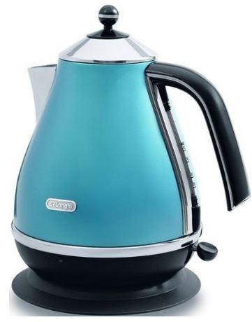 DeLonghi KBO 2001 B Wasserkocher mit 2000 Watt für 49,99€ (Vergleich 87,86€)