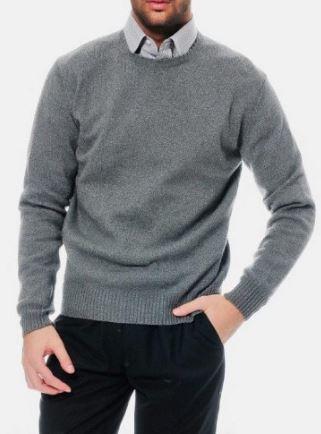 Pierre Balmain Herren Kaschmir Wolle Pullover für je 49,99€