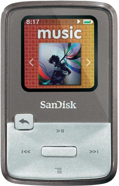 Sandisk Sansa Clip Zip   MP3 Player mit 8 GB für 39,90€