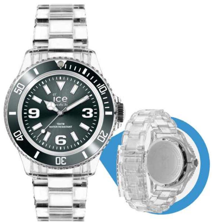 Ice Watch Pure Anthracite   Unisex Fashion Uhr (PU.AT.U.P.12) für 40,90€