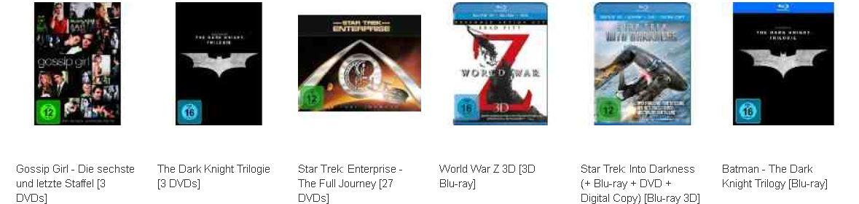 World War Z 3D und mehr Filme in den Amazon Blitzangeboten!