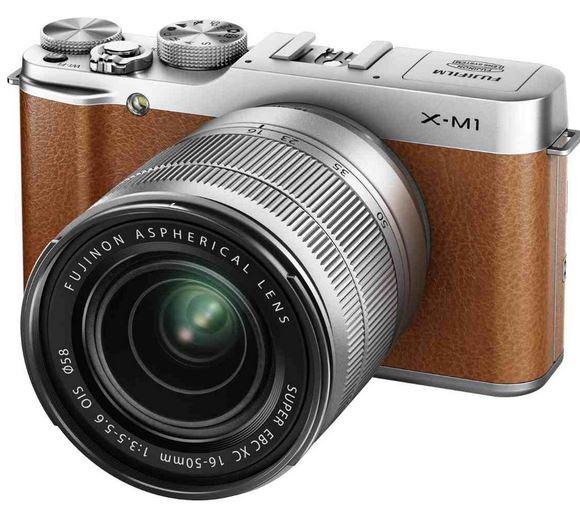 Fujifilm X M1   16 MP Systemkamera mit XC 16 50mm Objektiv für nur 495,59€  Update!