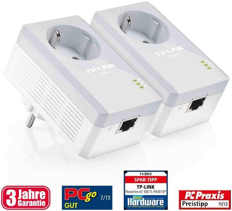 TP Link TL PA4010PKIT Powerline Adapter Set für 33,90€ bei den Amazon Blitzangeboten
