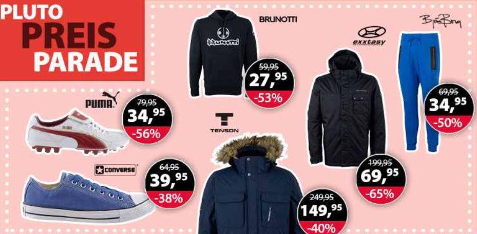 Plutosport   80% Rabatt Sale + 5€ Gutschein z.B. Damen und Herren Laufschuhe Asics Gel  für 39,95€