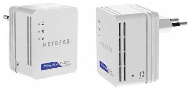 Netgear XAVB5101 AV 500 Nano   Powerline 2er Set für 29,95€ (Vergleich 44,85€)
