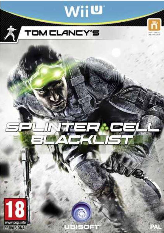 Wii U Game Splinter Cell Blacklist für nur 18,75€ inkl. Versand.