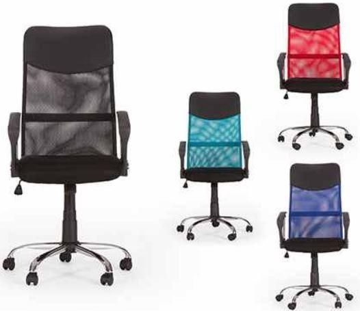 Bürostuhl Fillmore   mit Rollen in verschiedenen Farben für je 34,99€
