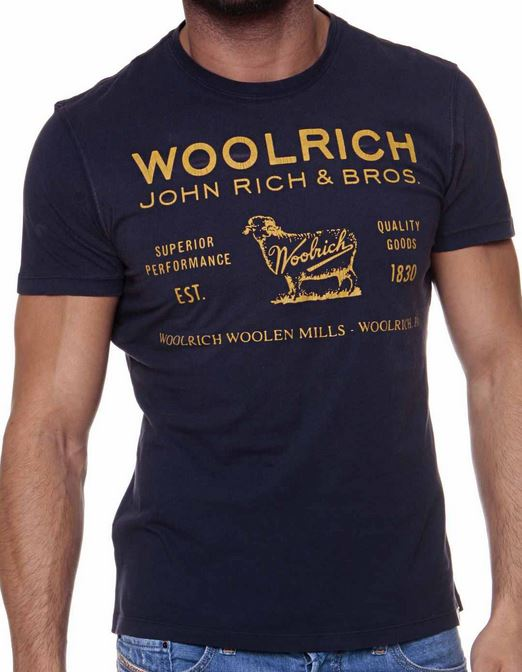 WOOLRICH Herren Kurzarm T Shirts im Casual Style je 24,99€