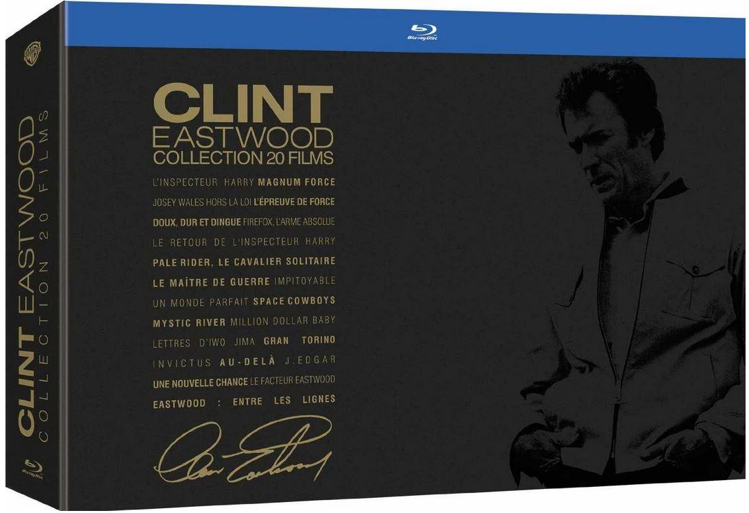 Clint Eastwood Blu ray Collection 20 Filme für 68,54€ + Gutscheintrick