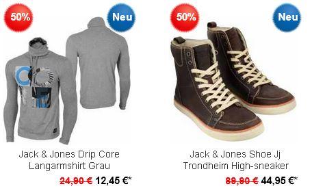 JACK&JONES und XINT mit 50 bis 90% Rabatt bei den Hoodboyz, z.B. Jeans ab 9,98€