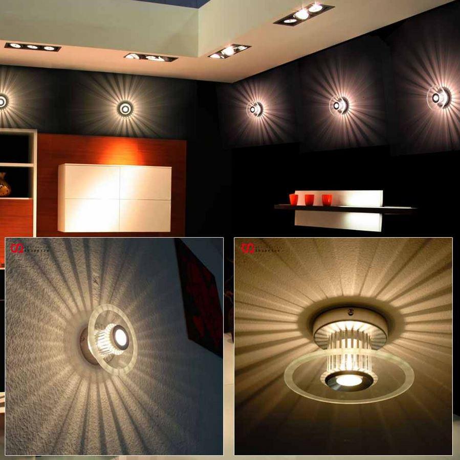 s`luce Sunrise   Deckenleuchte mit Sonnen Effektstrahlen für 14,99€   Update!