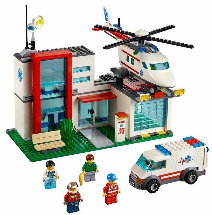 LEGO City 4429 Helikopter Rettungsbasis für 28,30€