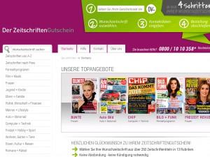 30€ Gutschein für viele Abos (ab 60€ MBW)