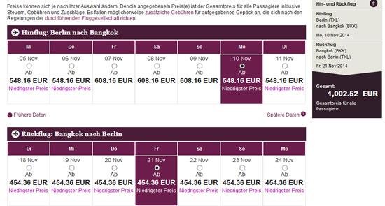 Flüge nach Asien für 2 Personen – z. B. Bangkok für 479€, Bali für 589€ oder Tokyo für 562€ p. P.