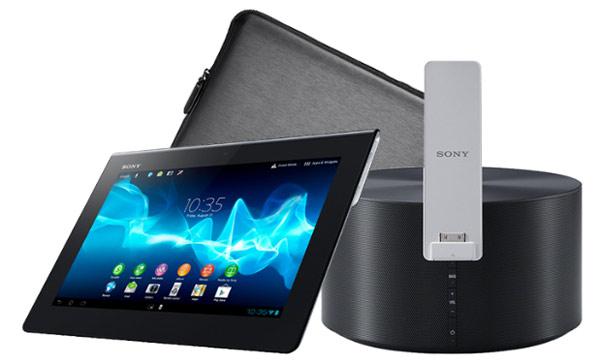 Sony Xperia Tablet S 64GB 3G für 399,90€   inkl. Lautsprecher und Tasche