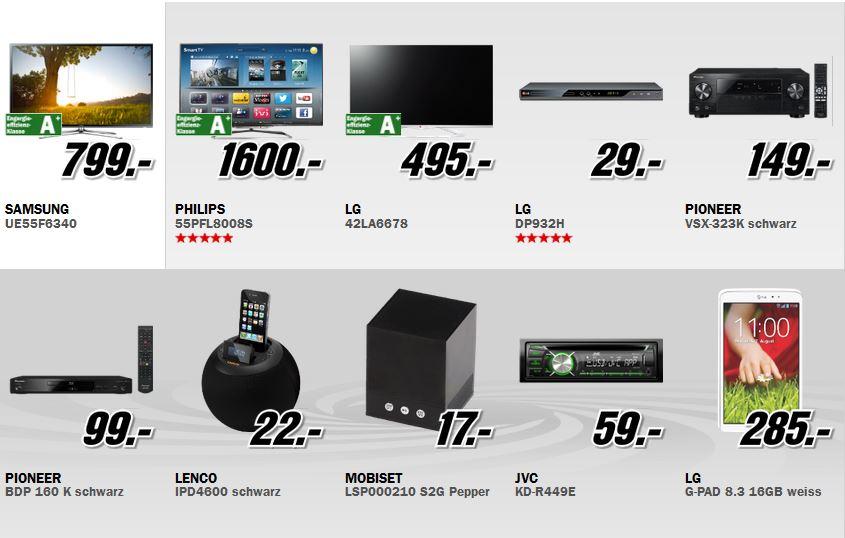 Samsung UE55F6340   55″ Zoll 3D TV für 799€ bei MediaMarkt Aktion: Alles Muss Raus