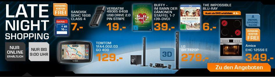 LG BH7420P 3D Blu ray 5.1 Heimkinosystem für 279€ beim Saturn Late Night Sale