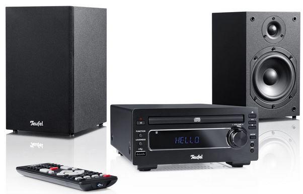 Teufel Kombo 22   60 Watt MP3 CD Micro Stereo Anlage für 199,99€   Update!
