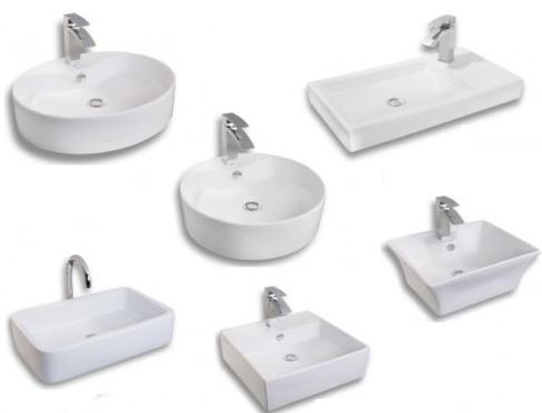 myBATH Design Aufsatzwaschtische   div. Modelle für je 65,90€