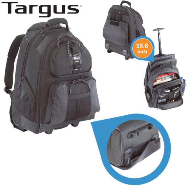Targus 15.6 Zoll   Laptop Rucksack / Trolley für nur 39,95€