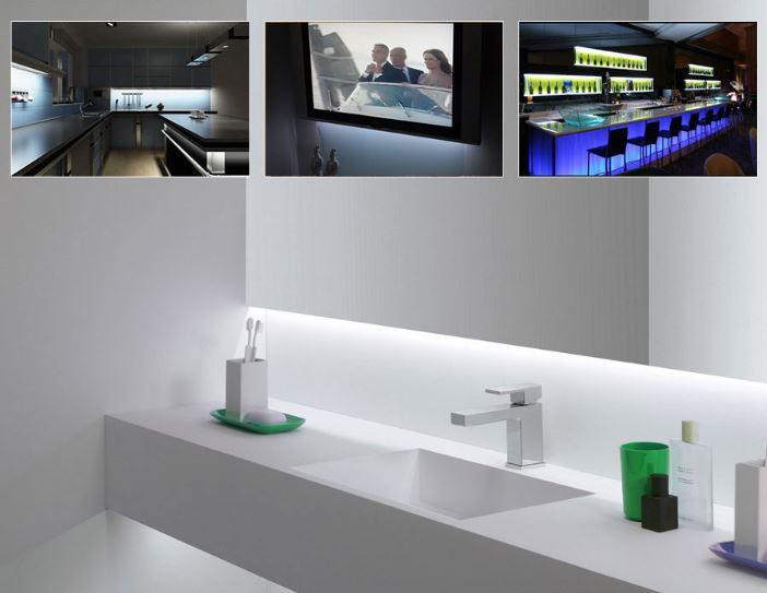 Globo   2er SET LED Lichtleisten mit 2x40cm für 6,99€ inkl. Versand