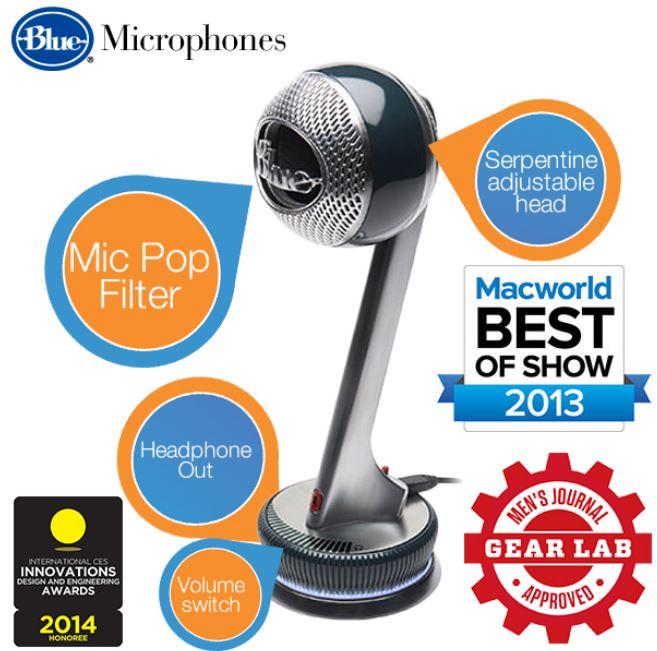 Blue Microphones Nessie   USB Studiomikrofon für 85,90€