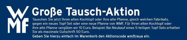 WMF Rabatt Aktion bei Karstadt mit vielen Artikeln zum Bestpreis!
