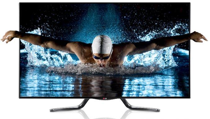 LG 47LA7909   47 Zoll Cinema 3D WLan Smart TV mit vier 3D Brillen für 849€   wieder da!