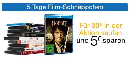 Amazon   5 Tage Film Schnäppchen   z.B. TV Serien auf Blu ray reduziert   Update!