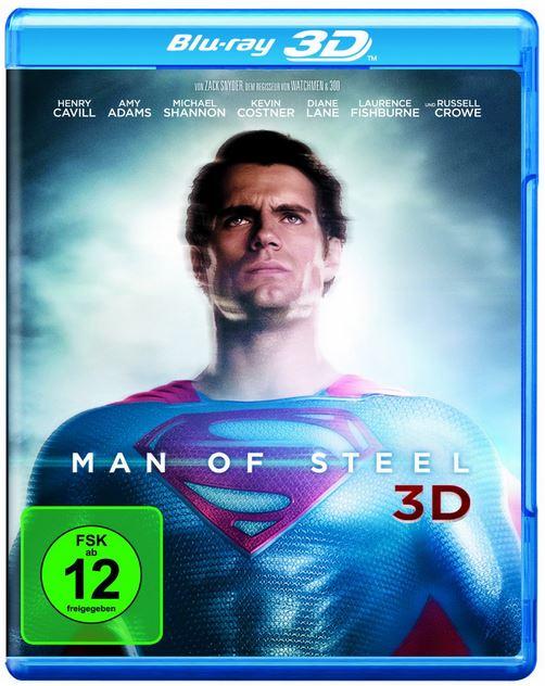 Man of Steel 3D für 19,97€ bei den Amazon DVD und Blu ray Angeboten der Woche