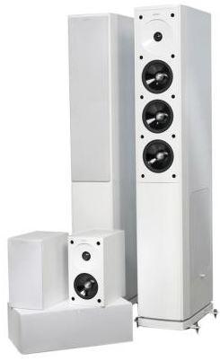 Yamaha RX V500 + Jamo S 608 HCS 3 Weiß (5.1 AV Receiver + Heimkinosystem) für 749€