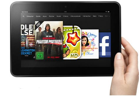 Kindle Fire HD 8.9 Zoll Tablet ab 159€