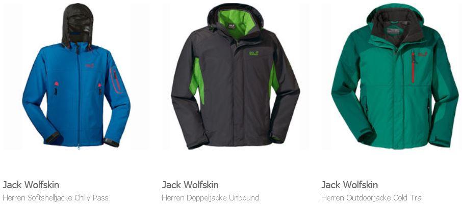 Jack Wolfskin, The North Face und viele andere Artikel im Karstadt Sale mit bis zu 50% Rabatt