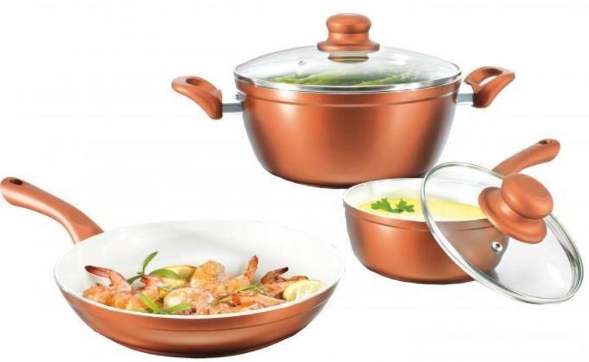 bratmaxx Ceramic Plus Koch & Bratset, 5 tlg. für 34,99€