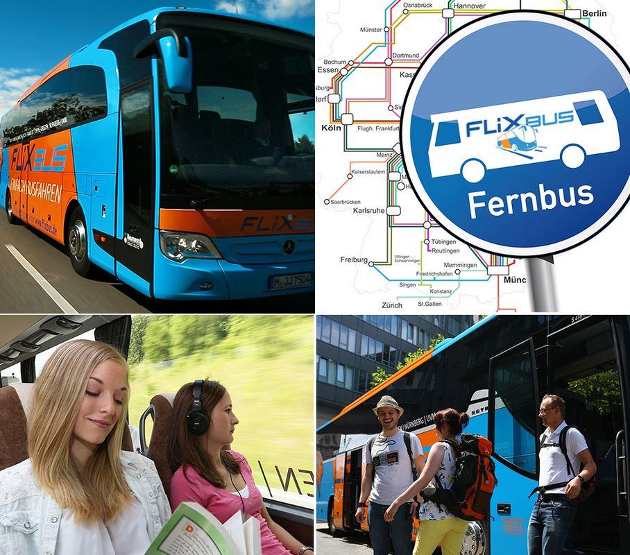 FlixBus   alle Strecken   ein Preis in Deutschland für 14,99€