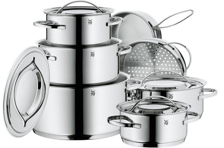 WMF Kochgeschirr Set   7teilig und mehr Amazon Blitzangebote