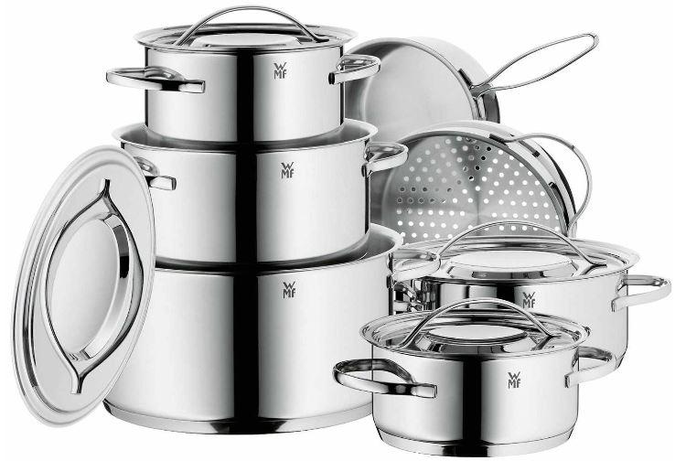 WMF 0711126040 Kochgeschirr Set 7 teilig Gala Plus und mehr Amazon Blitzangebote