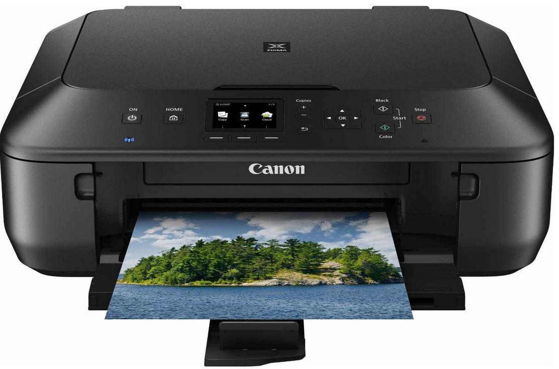 Canon PIXMA MG5550   Multifunktionsgerät mit Drucker, Kopierer, Scanner, USB, WLAN für 49,99€