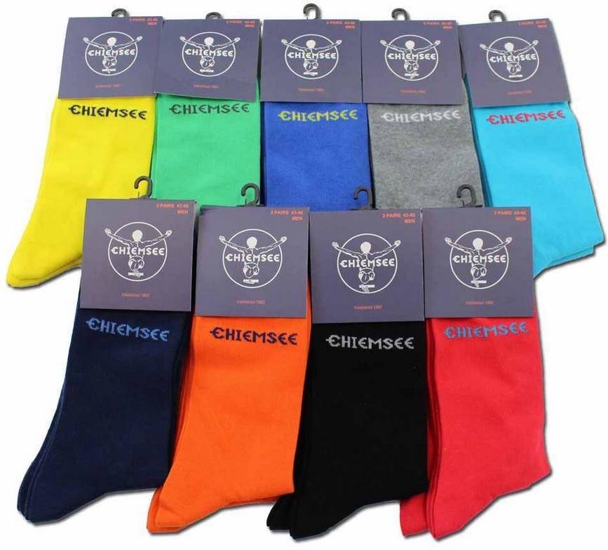 10 Paar Chiemsee Herrensocken diverse Farben, je Set für 19,99€