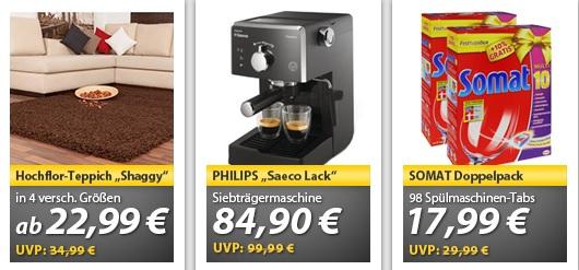 OHA Deals   PHILIPS Saeco HD8323/32 Siebträgermaschine für 84,90€