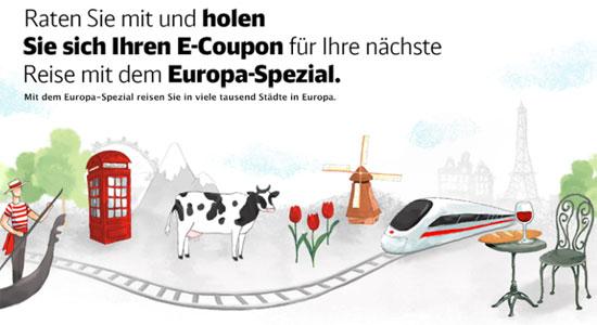 Update! 15€ eCoupon gratis für die DB