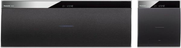 Panasonic SC NE5EG K für 186,99€   2 Wege Lautsprechersystem mit iPhone Dock, AirPlay, Bluetooth und DLNA