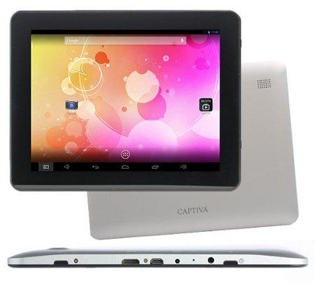 Captiva Pad 9.7 für 184,95€   9,7 Tablet mit QXGA Display, Android 4.2 und 16GB Speicher