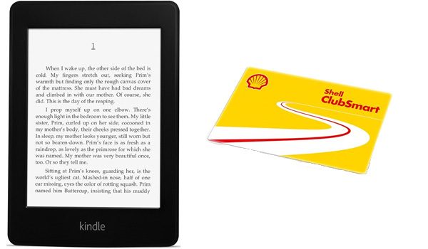 Kindle Paperwhite für ~10€ bei Shell Aktion   oder 5€ Amazon Gutschein für ~2,40€   Update